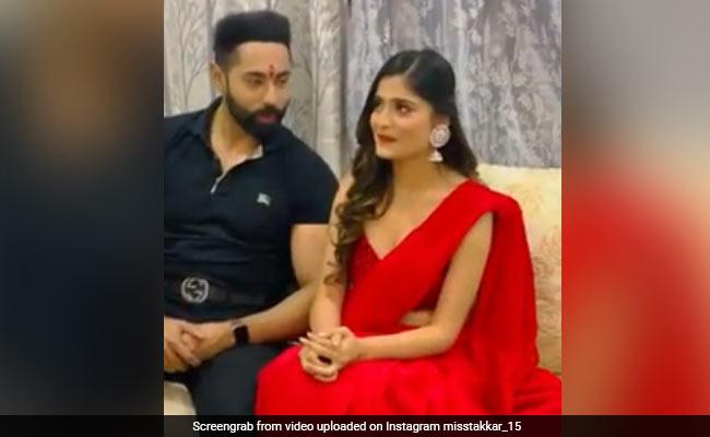 Sasural Simar Ka Actress Vaishali Takkar Gets Engaged To Abhinandan Singh