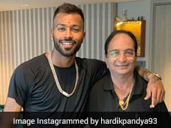 """""""3 Months Since My Angel Left Us"""": Hardik Pandya Shares Pic With Late Father"""