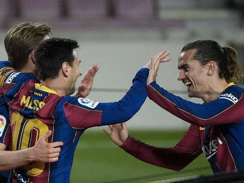 La Liga: Lionel Messi Double Fires Barcelona To Victory Over Getafe, Atletico Madrid Beat Huesca