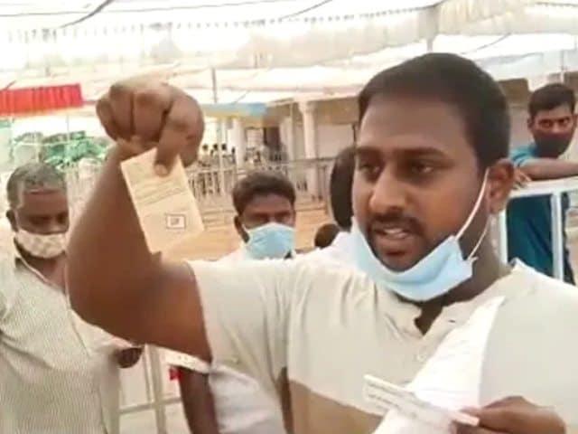Video : BJP Alleges Large Number Of Fake Voters In Tirupati Lok Sabha Bypoll