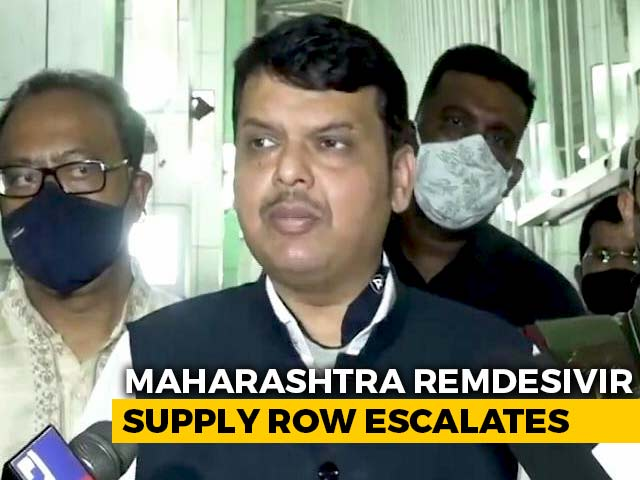 Video : No Clue How BJP Got Involved In Remdesivir Issue In Maharashtra: Sources