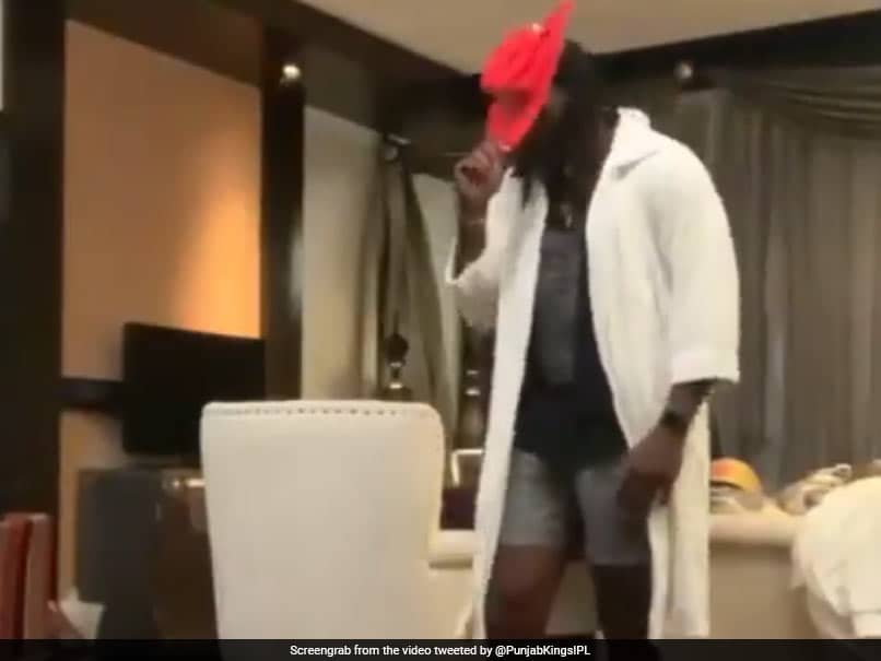 IPL 2021: Dont Miss Chris Gayles Moonwalk To Michael Jackson Hit As Quarantine Ends