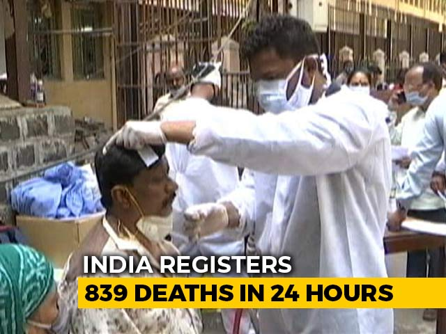 1,52,879 Fresh Coronavirus Cases In India In Biggest-Ever One-Day Spike