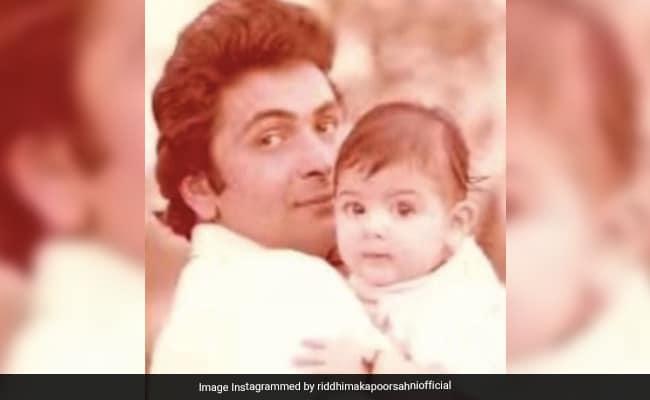 'Until We Meet Again:' Riddhima Kapoor Sahni Remembers Dad Rishi Kapoor