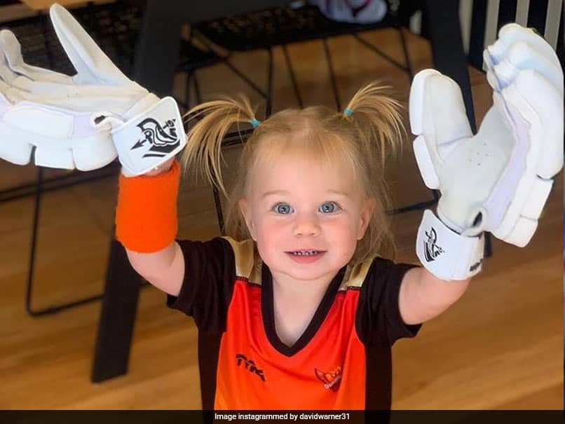 """IPL 2021, SRH vs KKR: David Warners """"Number 1 Supporters"""" Rally Behind Him. See Pics"""