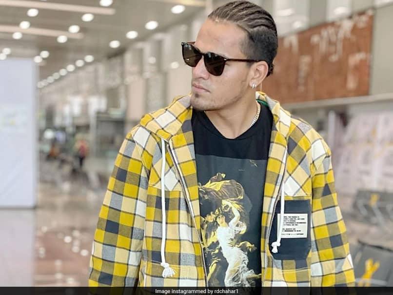 """Meet My Hairstylist"": Rahul Chahar Shares Pic With Partner Ishani"