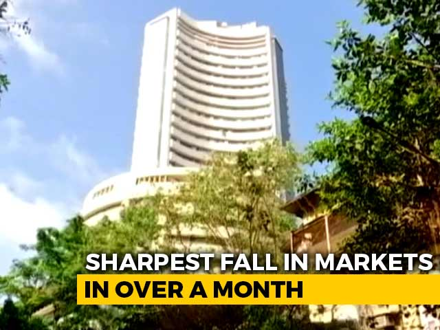 Video : Markets Slide Over 3% As Covid Spike, Fears Of Lockdown Spook Sentiment