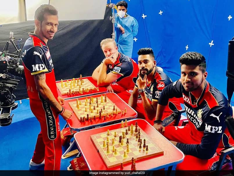 IPL 2021: Yuzvendra Chahal Takes On AB De Villiers, Two Other RCB Teammates Simultaneously In Chess