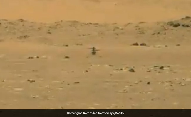 NASA's Ingenuity Helicopter Takes Flight On Mars, First On Another Planet