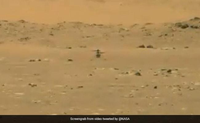 NASA Postpones Mars Ingenuity Helicopter's Fourth Flight