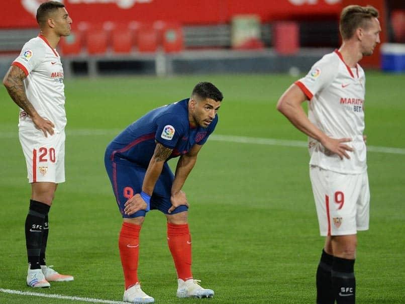 La Liga: Atletico Madrid Dealt Another Title Blow After Defeat By Sevilla
