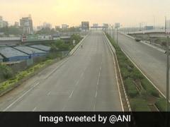 Maharashtra Coronavirus : मुंबई में दिन में भी सूनी हुईं सड़कें, वीकेंड लॉकडाउन में ऐसी दिखीं तस्वीरें