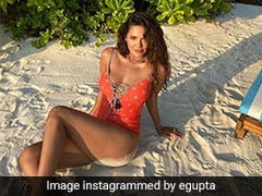 Esha Gupta Is Proof That No Beach Holiday Is Complete Without Stylish Swimsuits