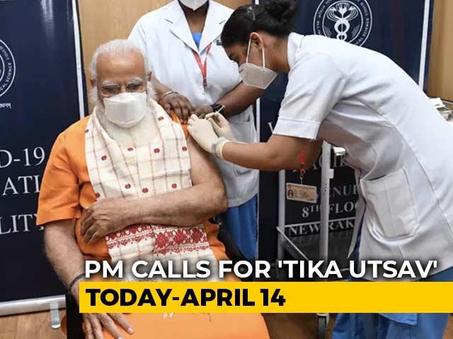 PM Modi's Four Appeals As 'Tika Utsav' To Step Up Vaccine Coverage Starts