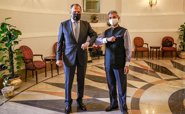 S Jaishankar Holds Talks With Russian Counterpart, Iranian President At SCO Summit
