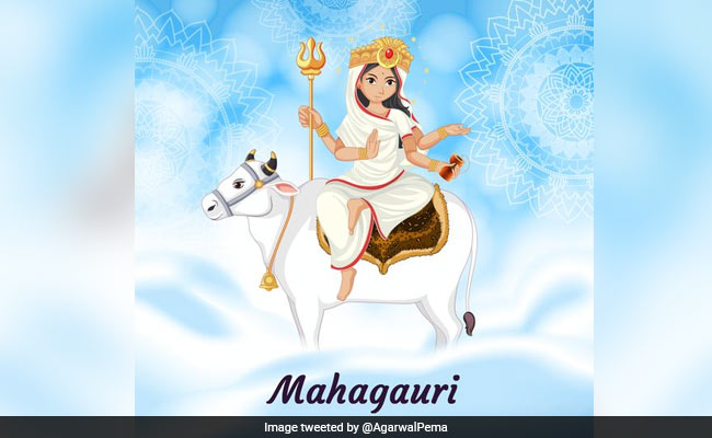Navratri 2021 Day 8: Mahagauri Is Worshipped Today. Time, Puja Vidhi Here