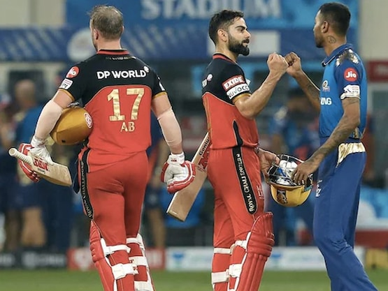 RCB vs MI HEAD TO HEAD