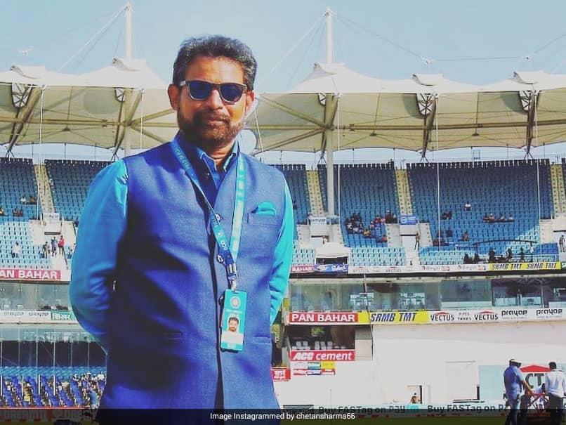 Chetan Sharma, India Mens Cricket Teams Chief Selector, Gets First Dose Of COVID-19 Vaccine