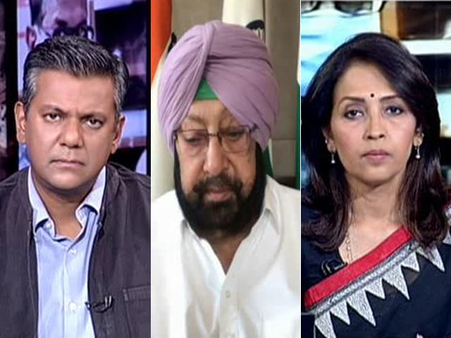 """Video : """"War Against Invisible Enemy"""": Amarinder Singh On Covid Pandemic"""