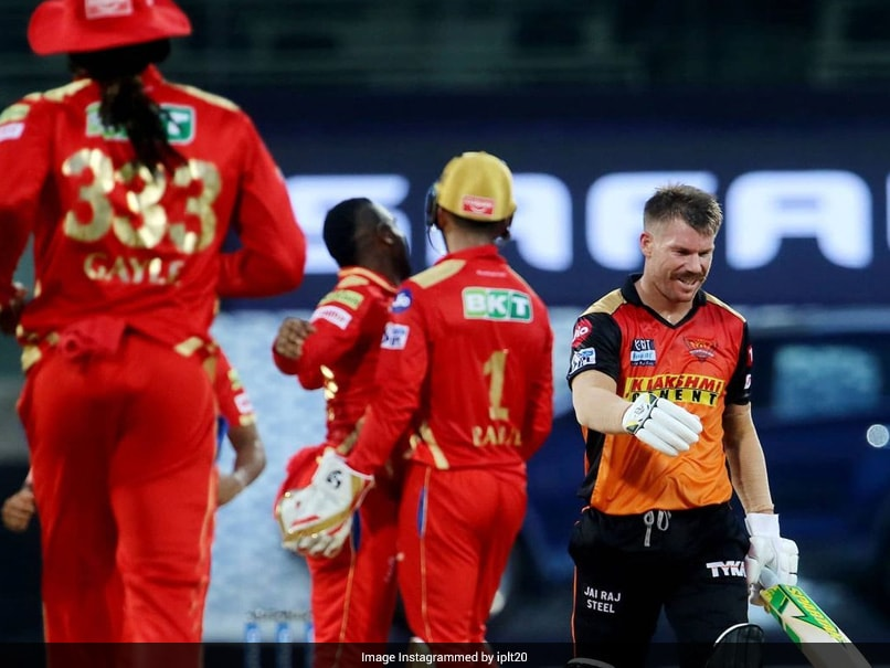"IPL 2021: David Warner Terms Chepauk Pitch As ""Shocking"" After First Win Of The Season"