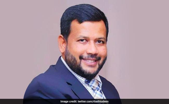 Sri Lanka Arrests MP Rishad Bathiudeen, His Brother Over Easter Attacks