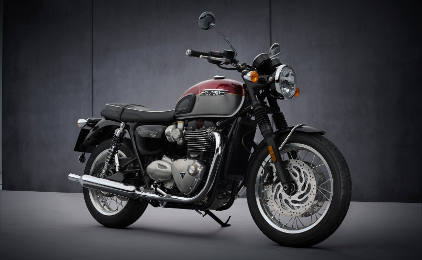 The 2021 Triumph Bonneville range includes the Street Twin, T100, T120 & Speedmaster