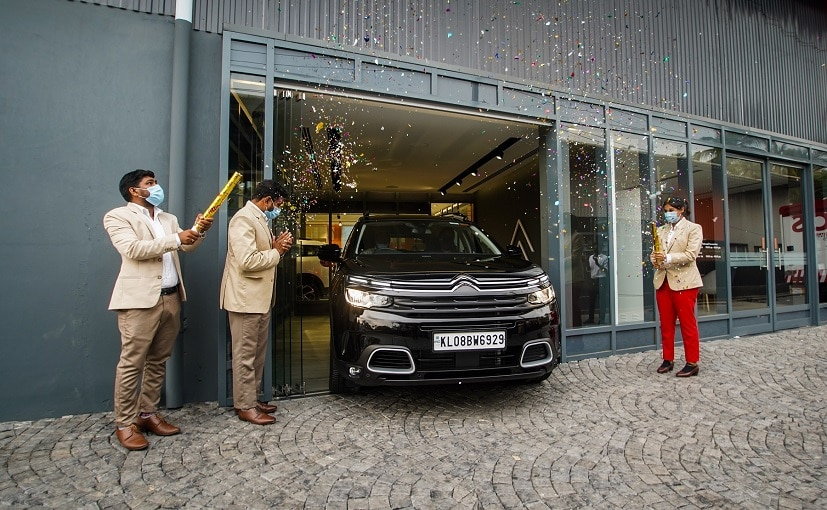The Citroen C5 Aircross SUV is locally assembled at the company's facility in Tamil Nadu.