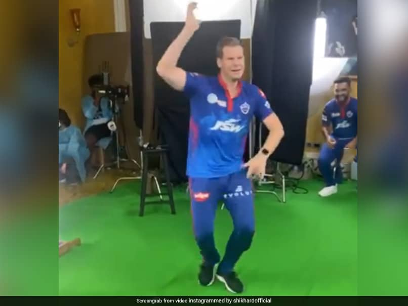 Watch: Delhi Capitals Steve Smith, Chris Woakes And Others Dance To Vaathi Coming Song