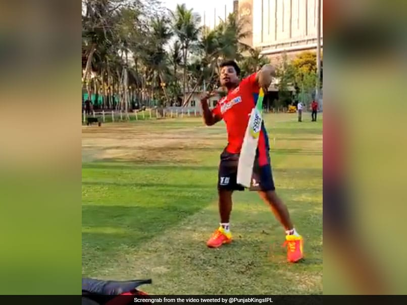 IPL 2021: Sarfaraz Khan Mimics Darren Sammy, Receives Approval From Chris Gayle. Watch