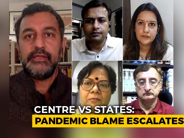 Video : As Pandemic Worsens, So Does Politics