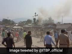 Fire Break Out At Bairagi Camp In Kumbh Mela - Second Time In 10 Days