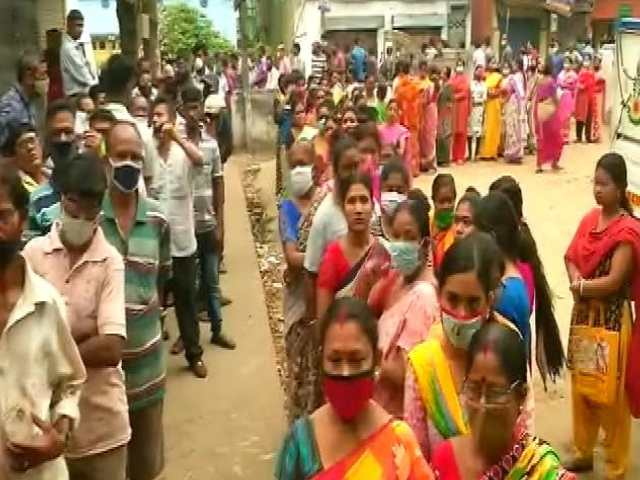 """Video : """"No Trend"""" Linking Covid Spike to Polls: BJP On Clubbing Phases In Bengal"""