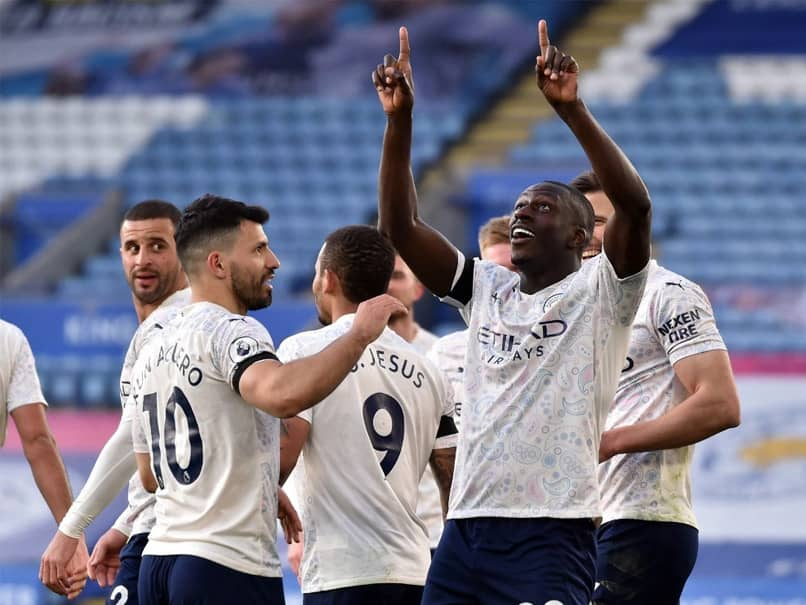 Premier League: Manchester City Cruise Past Leicester City To Close In On Title