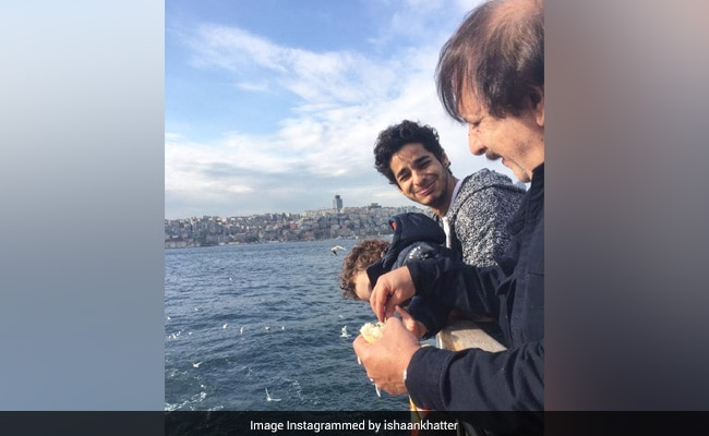 What Ishaan Khatter Posted On 'Magic' Majidi's Birthday