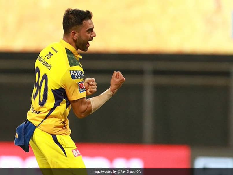 "Ravi Shastri Impressed By Deepak Chahars ""Super Variations"" As He Rips Apart Punjab Kings Top-Order"