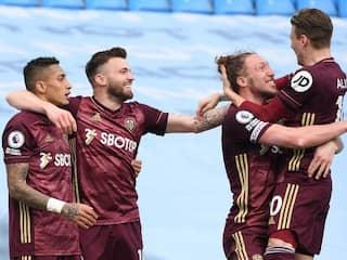 Premier League: Stuart Dallas Scores Twice As 10-Man Leeds United Shock Manchester City