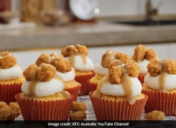 Cupcakes Made With Chicken Popcorn? KFC Shares This Make-At-Home Savoury Dessert Recipe