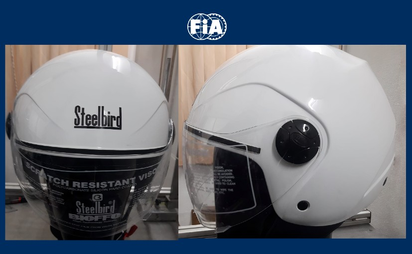 The helmet produced by Steelbird for the initiative has been developed by the FIA Safety department