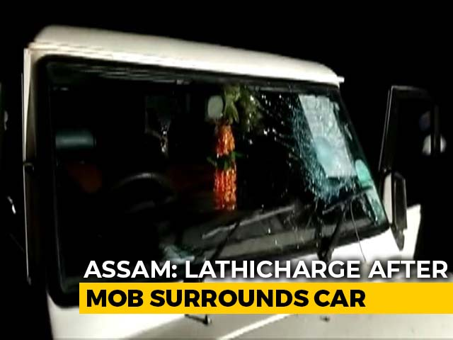 Video : EVM In Assam BJP Candidate Car: 4 Officials Suspended, Repoll At Station