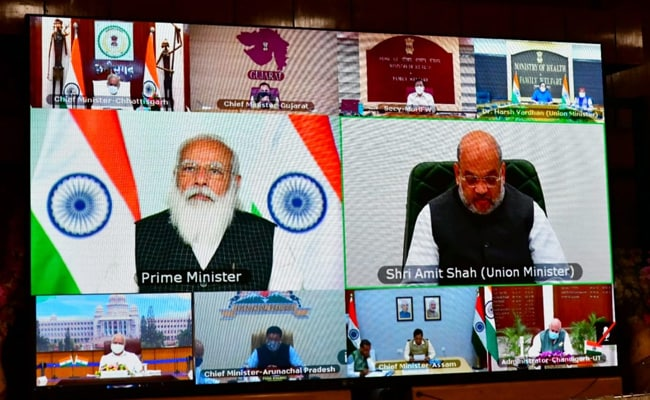 Focus On Micro-Containment Zones, 'Covid Curfews': PM To Chief Ministers