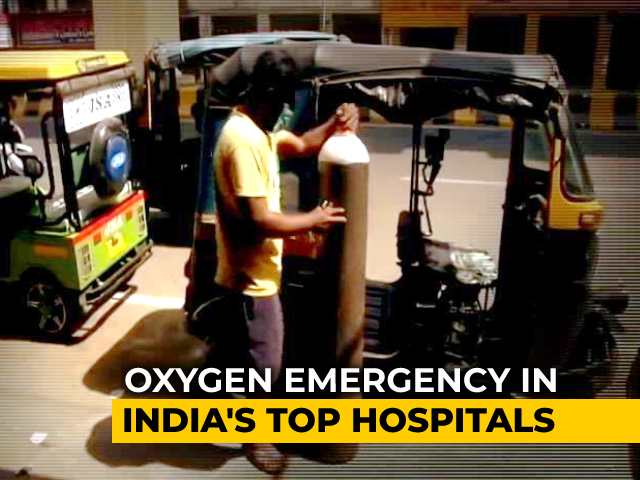 Video : S.O.S Oxygen: Patients Dying Struggling To Breathe