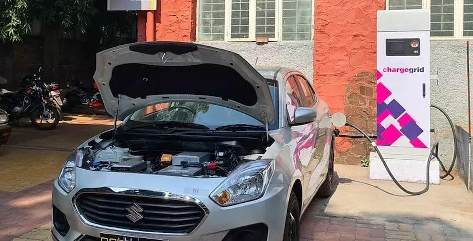 Maruti Suzuki Dzire को बदल दिया इलेक्ट्रिक कार में, सिंगल चार्ज में 250 किलोमीटर चलने का दावा, देखें वीडियो