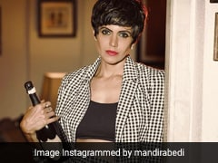For Mandira Bedi, Pantsuits Make For A Winning Weekend Outfit And We Completely Agree