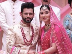 Disha Parmar Sets Breathtaking Indian Bridal Fashion Goals In A Gorgeous Pink <i>Lehenga</i>