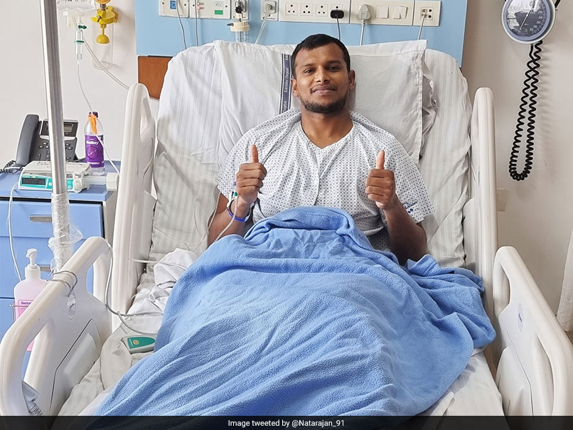 T Natarajan Undergoes Knee Surgery, Says Looking Forward To Come Back Stronger And Fitter