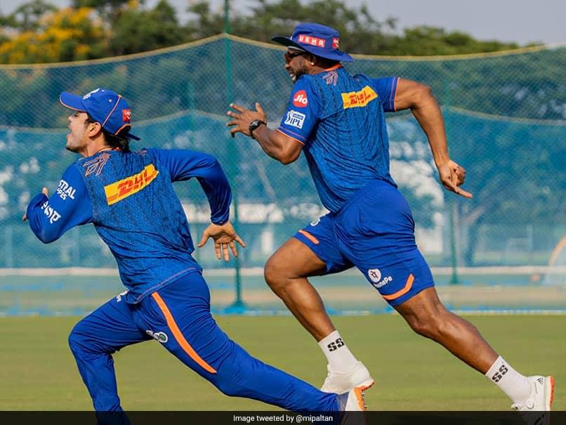Mumbai Indians Ishan Kishan, Kieron Pollard Race In Build-up To IPL 2021 Kick-off