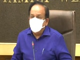 Video : We Have To Scale Up Beds Capacity, Says Health Minister Harsh Vardhan
