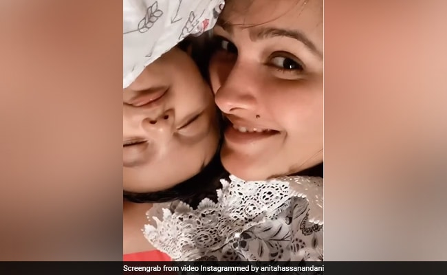 How Cute Is This Video Of Anita Hassanandani With Her Little Cupcake Aaravv?
