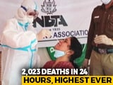 Video : Nearly 3 Lakh Covid Cases, 2,023 Deaths: India Sees Biggest Daily Spike