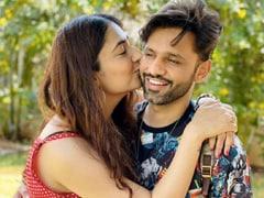 Disha Parmar And Rahul Vaidya Seal It With A Kiss On Instagram